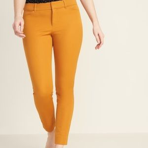 BRAND NEW Mustard Old Navy Pixie Ankle Pants